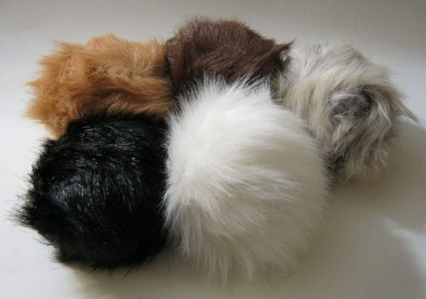 Stage Props Tribbles Set of Three 3 Assorted Colours
