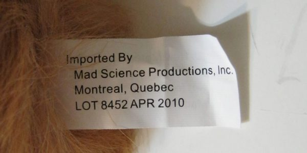 Stage Props Tribbles Set of Three 3 label
