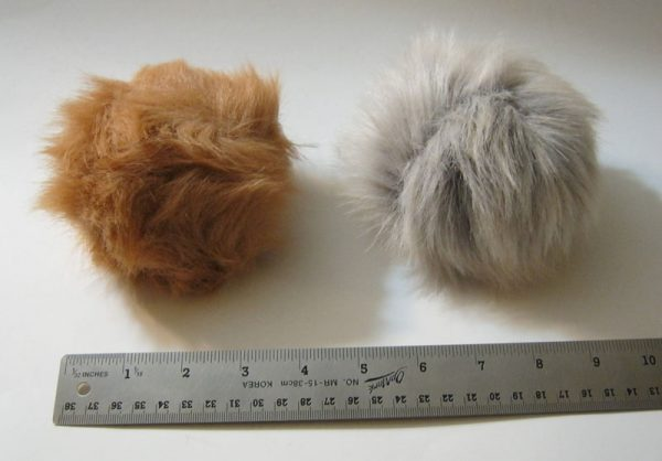 Stage Props Tribbles Set of Three 3 size