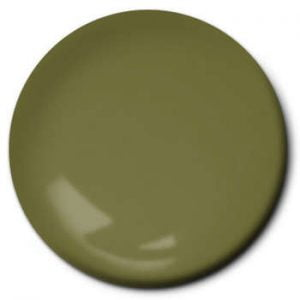 Testors Enamel Paint 1165 Flat Army Olive
