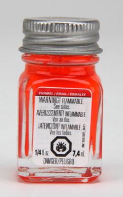 Testors Enamel Paint 1175 Red Flourescent