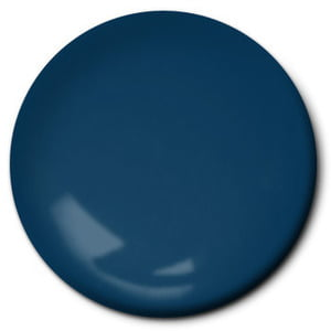 Testors Enamel Paint 1172 Flat Sea Blue