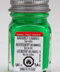 Testors Enamel Paint 1174 Green Fluorescent