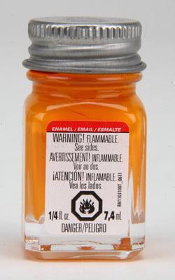 Testors Enamel Paint 1126 Tangerine