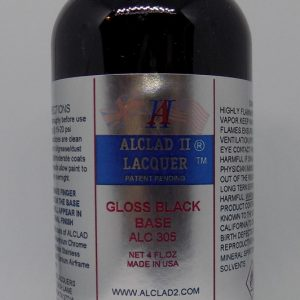 Alclad II Gloss Black Base 4 oz ALC 305