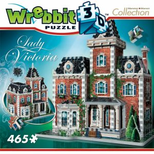 Lady Victoria 3D Puzzle from Wrebbit package front