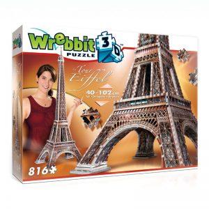 La Tour Eiffel 3D Puzzle from Wrebbit package