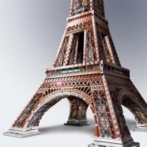 La Tour Eiffel 3D Puzzle from Wrebbit upclose