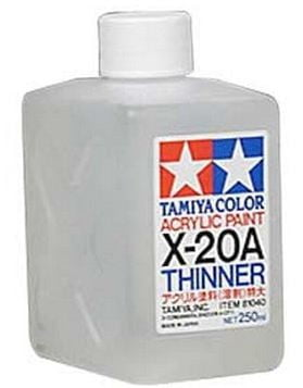 Tamiya Thinner X20A X-20A X20 X-20 250ml 81040