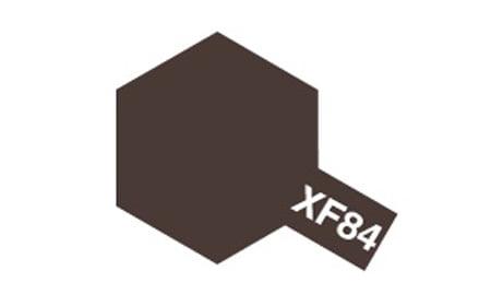 Tamiya Acrylic Paints XF84 XF-84 81784 Dark Iron