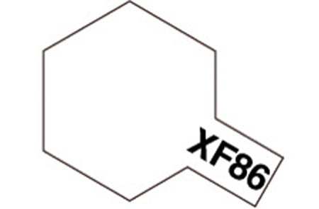 Tamiya Acrylic Paints XF86 XF-86 81786 Flat Clear