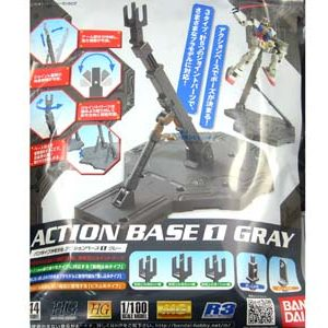 Bandai Action Base 1 Gray Grey 148216