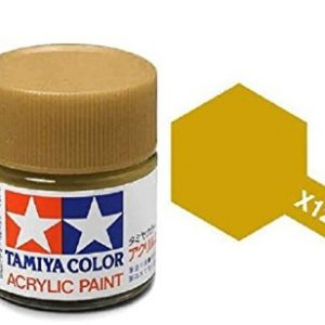 Tamiya Acrylic Paints X12 X-12 81512 Gold Leaf