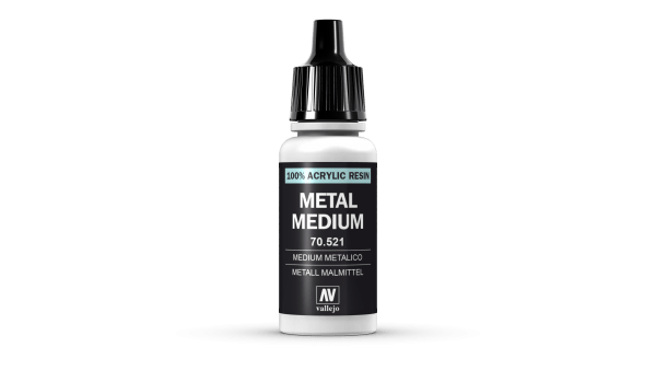 Vallejo Model Color Colour 70521 Metal Metallic Medium