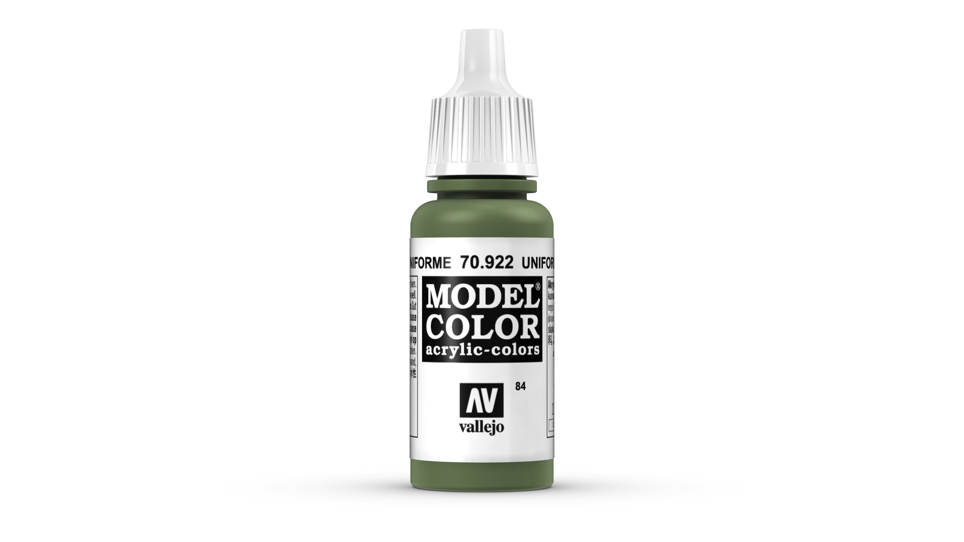 Vallejo Model Color Colour 70922 Uniform Green 084