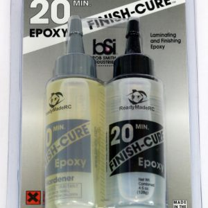 Bob Smith Industries Finish Cure 20 Minute Epoxy 4-5oz BSI 209