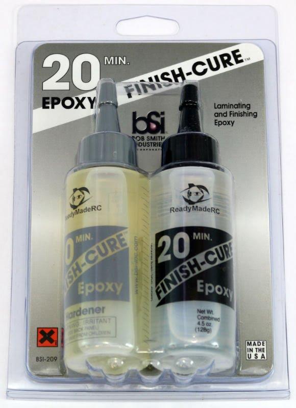 Bob Smith Industries Finish Cure 20 Minute Epoxy 4-5oz BSI 209
