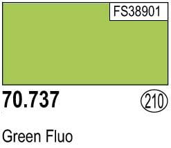 Vallejo Model Color Colour 70-737 Green Fluo Fluorescent 210