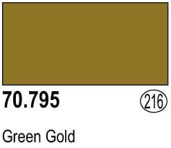 Vallejo Model Color Colour 70-795 Green Gold 216
