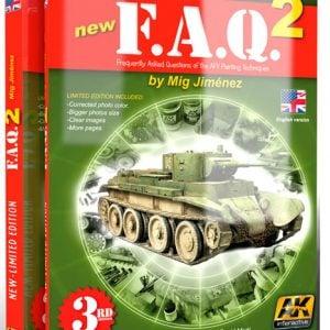 FAQ 2 AFV Painting Techniques Book AK Interactive AKI-038FAQ 2 AFV Painting Techniques Book AK Interactive AKI-038