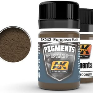 European Earth Pigments by AK Interactive AKI 042