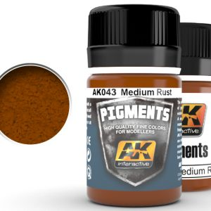 Medium Rust Pigments by AK Interactive AKI 043