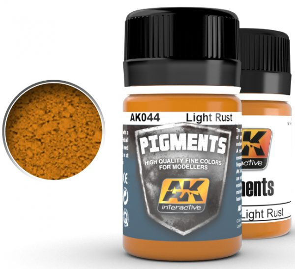Light Rust Pigments by AK Interactive AKI 044