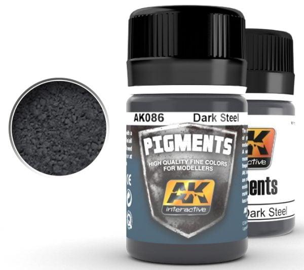 Dark Steel Pigments by AK Interactive AKI 086