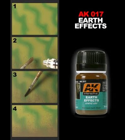 Earth Effects by AK Interactive AKI-017 Techniques