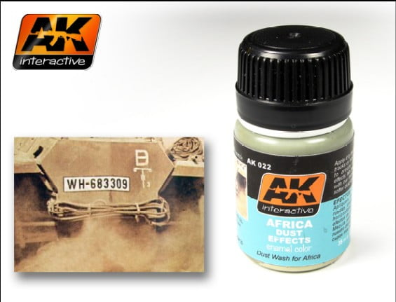 Africa Dust Effects by AK Interactive AKI-022