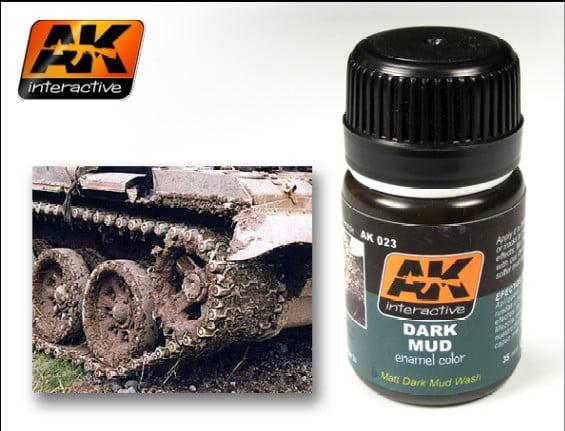 Dark Mud by AK Interactive AKI-023