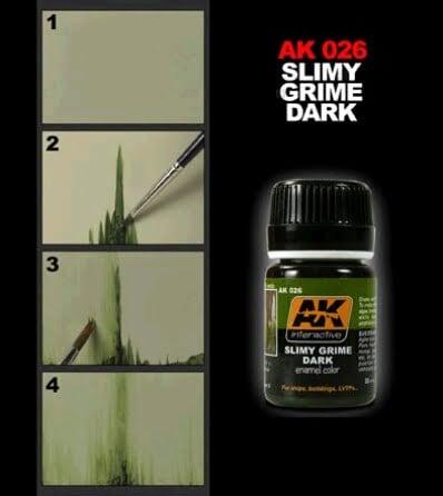 Slimy Grime Dark by AK Interactive AKI-026 Technique