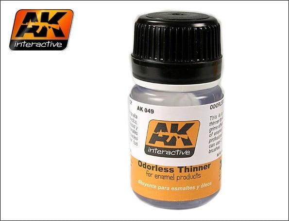 Odorless Odourless Thinner by AK Interactive AKI-049