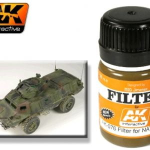Filter for NATO Tanks by AK Interactive AKI-076