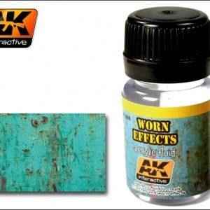 Worn Effects Acrylic Fluid by AK Interactive AKI-088