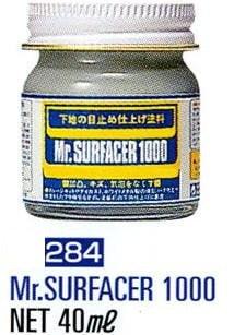 Mr Surfacer 1000 by Mr Hobby Gunze 40ml