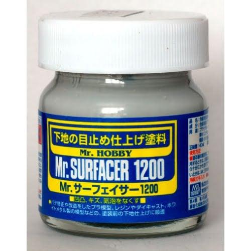 Mr Surfacer 1200 by Mr Hobby Gunze 40ml