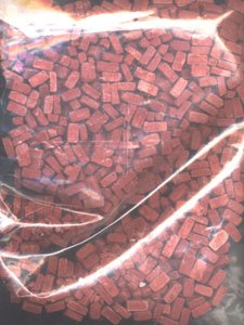Small Red Bricks Resin by Pegasus Hobbies