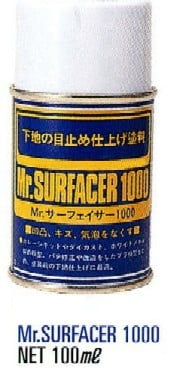 Mr Surfacer 1000 Spray 100ml by Mr Hobby Gunze