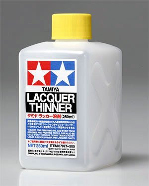 Lacquer Thinner 250 ml by Tamiya 87077