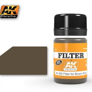 Filter for Brown Wood by AK Interactive AKI-262