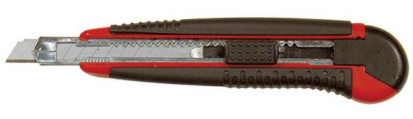 Light Duty Soft Handle Utility Knife with 5 13pt Snap Blades by Excel 16810