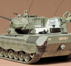 West German Flkpnzr Gepard Kit CA199 by Tamiya 35099