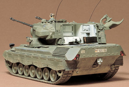 West German Flkpnzr Gepard Kit CA199 by Tamiya 35099