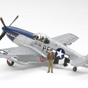 "1/48 NA P-51B Mustang - ""Blue Nose"" by Tamiya 92216"