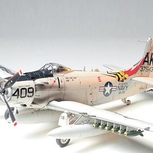 Douglas Skyraider AD-6 A-1H 1-48 Scale by Tamiya 61058