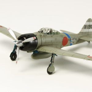 Mitsubishi A6M3 (Hamp) - Zero Fighter Model 32 by Tamiya 60784