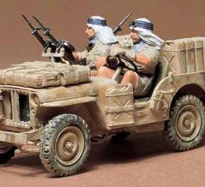 British SAS Jeep Kit - CA133 by Tamiya 35033