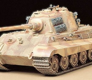 "King Tiger ""Production Turret"" by Tamiya 35164"