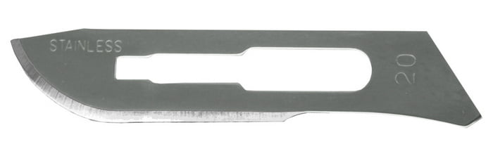 No 20 Surgical Blade 2 pieces by Excel 20